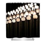 Lacma Lights 3 Shower Curtain