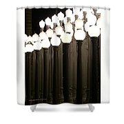 Lacma Lights 4 Shower Curtain