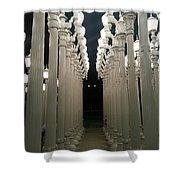 Lacma Lights 8 Shower Curtain