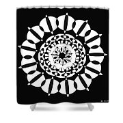 Lacy Shower Curtain