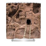 Ladder To The Ruin Shower Curtain