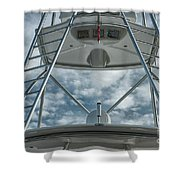 Ladders On A Fishing Boat Shower Curtain