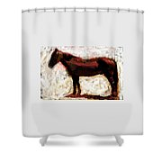 Laddy Shower Curtain