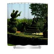 Ladew Topiary Gardens Shower Curtain