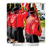 Ladies Auxiliary Palenville Fire Department 8 Shower Curtain