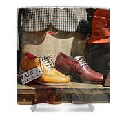 Ladies Brogues Shower Curtain