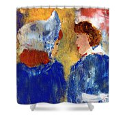 Ladies Day Out Shower Curtain