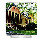 Ladies Library Brewster Ma Shower Curtain