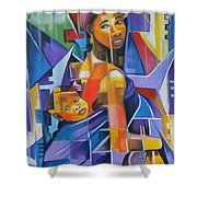 Pride Of African Woman Shower Curtain
