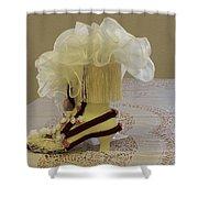 Ladies Tea Iv Shower Curtain