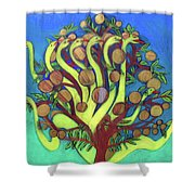 Ladon Shower Curtain