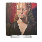 Lady Ann Shower Curtain