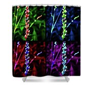 Lady Beetle Confetti Shower Curtain