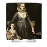 Lady Cavendish Later Countess Shower Curtain