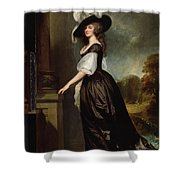 Lady Charlotte Milnes Shower Curtain