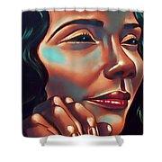 Lady Coretta Shower Curtain