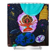 Lady Earth Shower Curtain