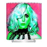Lady Gaga Shower Curtain