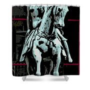 Lady Godiva 2 Shower Curtain