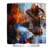 Lady Godiva Shower Curtain