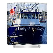Lady J Shower Curtain