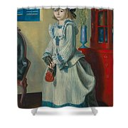 Lady Jean Shower Curtain