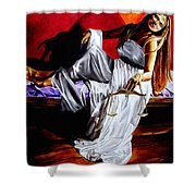 Lady Justice Shower Curtain