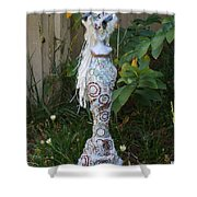 Lady M Shower Curtain