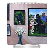 Lady Macbeth Family Gallery Shower Curtain