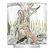 Lady Nature Shower Curtain