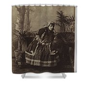 Lady Of Dreams Shower Curtain