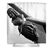 Lady Of Gasparilla Shower Curtain