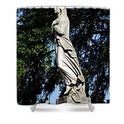 Lady Of Grace Shower Curtain