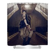 Lady Of The Manor Shower Curtain