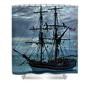 Lady Washington-3 Shower Curtain