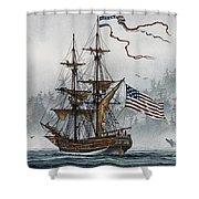 Lady Washington Shower Curtain by James Williamson