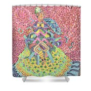 Lady With Parasol Shower Curtain