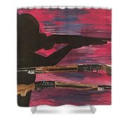 Ladypower  Shower Curtain