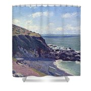 Ladys Cove Shower Curtain