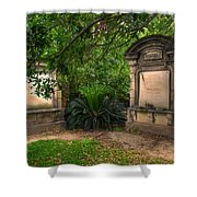 Lafayette Crypts 1 Shower Curtain
