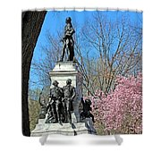 Lafayette Square Named For General Marquis Gilbert De Lafayette Shower Curtain