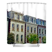 Lafayette Square Painted Ladies Shower Curtain