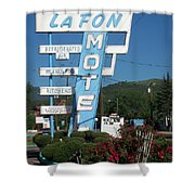 Lafon Motel Shower Curtain