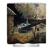 Laforet Ardennes Village  Shower Curtain