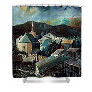 Laforet Village  Shower Curtain
