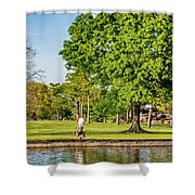 Lafreniere Park 2 Shower Curtain
