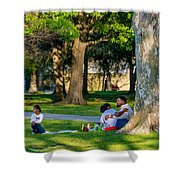 Lafreniere Park Shower Curtain