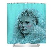 Lagertha Shieldmaiden Shower Curtain