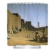 Laghouat In The Algerian Sahara Shower Curtain