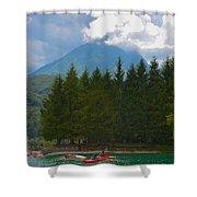 Lago Di Barcis Shower Curtain